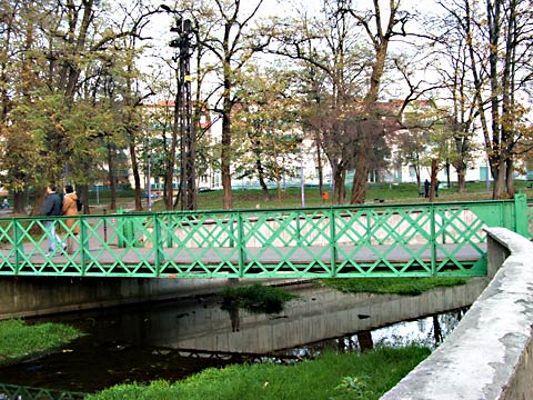 Most Króla Jana - ufundowany przez Carla Preibisha - na przeciw jego willi, fot. bogatynia.it
